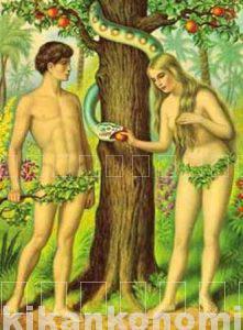 期間工とアダムとエバ