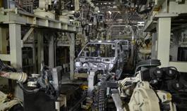 ボディー工程| ダイハツ九州の中津工場