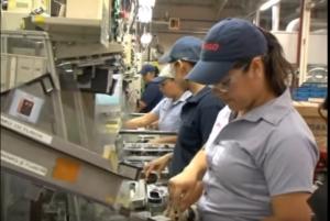 デンソー期間工の工場|女性活躍