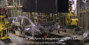 日産ノート車体工程2